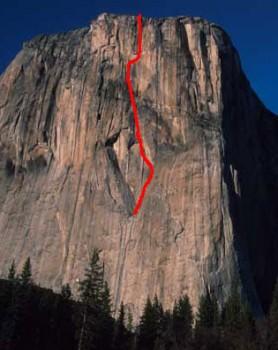 El Capitan - Son of Heart A3+ 5.8 - Yosemite Valley, California USA. Click to Enlarge
