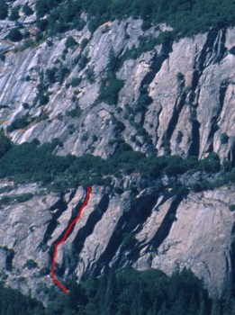 Five Open Books - Commitment 5.9 - Yosemite Valley, California USA. Click to Enlarge