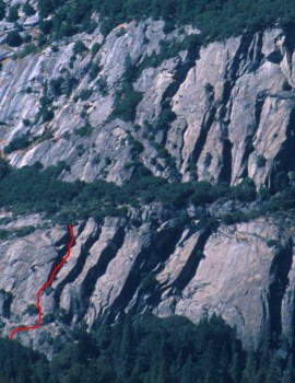 Five Open Books - Munginella 5.6 - Yosemite Valley, California USA. Click to Enlarge