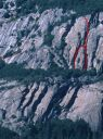 Five Open Books - Selaginella 5.8 - Yosemite Valley, California USA. Click for details.