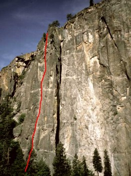 Higher Cathedral - Braille Book 5.8 - Yosemite Valley, California USA. Click to Enlarge