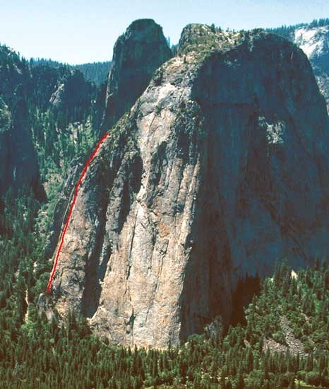 East Buttress is one of the 50 Classic Climbs of North America
