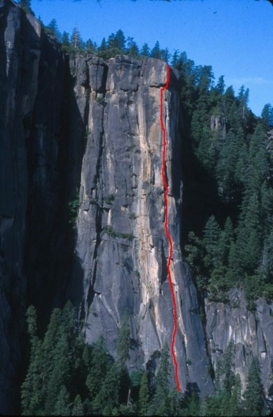 The Rostrum is one of the finest multi-pitch 5.11 climbs anywhere.