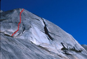 Stately Pleasure Dome - West Country 5.7 - Tuolumne Meadows, California USA. Click to Enlarge
