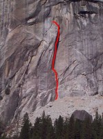 The Folly - Good Book 5.10d - Yosemite Valley, California USA. Click to Enlarge