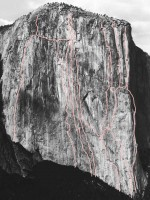 El Capitan - The Shield A3 5.8 - Yosemite Valley, California USA. Click to Enlarge