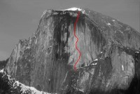 Half Dome - Zenith A4 5.8 - Yosemite Valley, California USA. Click to Enlarge