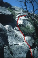 Reed's Pinnacle - Ejesta 5.8 - Yosemite Valley, California USA. Click to Enlarge