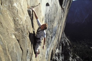 Leo Houlding on his free climbing project near climbg Bad to the Bone ...