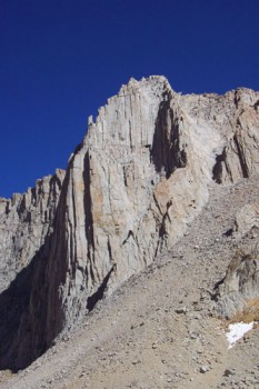 Located just north of Mt. Whitney is Mt. Russel which, many people arg...