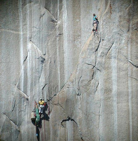 Leading pitch 7 of Tangerine Trip.