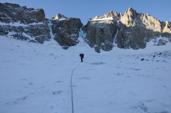 Palisade Glacier Approach