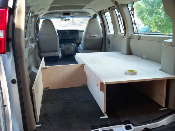 Cargo Van To Camper Any Ideas SuperTopo Rock
