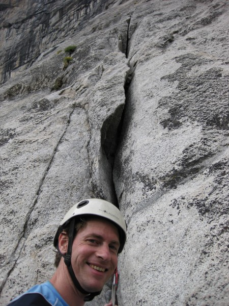 Mike Z ready to lead fourth pitch (5.8) of Super Slide