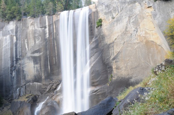 Attempting to do justice to Vernal Falls...and failing