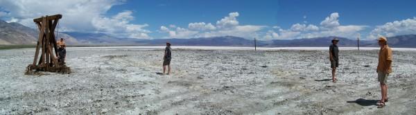 Saline Salt flats summer 09