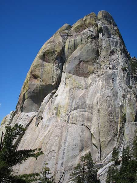 The Needles of California - East Face of The Warlock