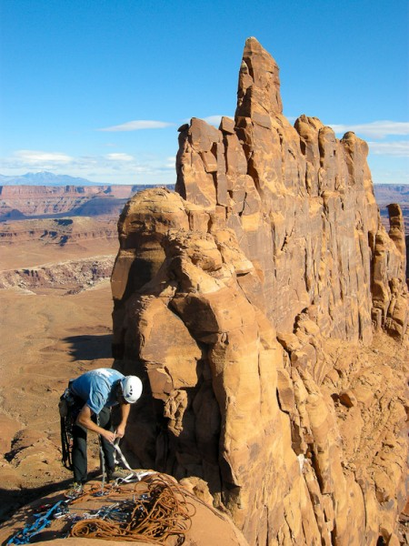 On the summit of Tiki Tower. <br/>