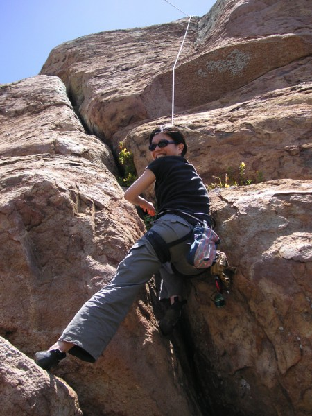 On Summit Blocks, Bishop's Peak, San Luis Obispo, circa 2005