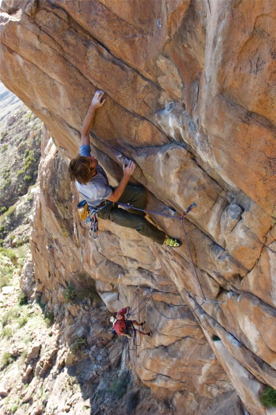Sharma, Soy Chango P2, 11c, Eagle Peak Main Wall