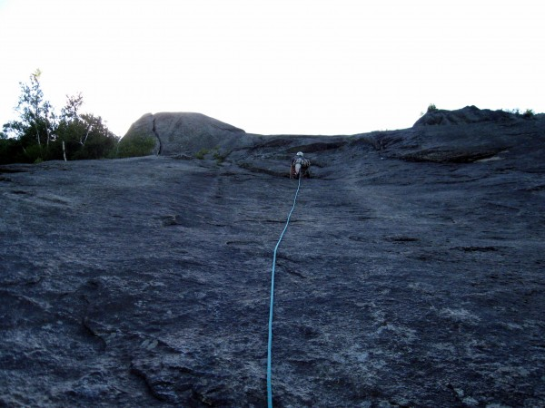 Chapel Pond Slab, Empress, Pitch 4
