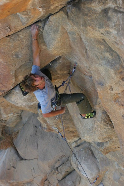 Crazy Horse, pitch 1, 5.12b, EP