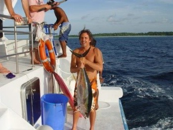 Bluntman in the Maldive Islands