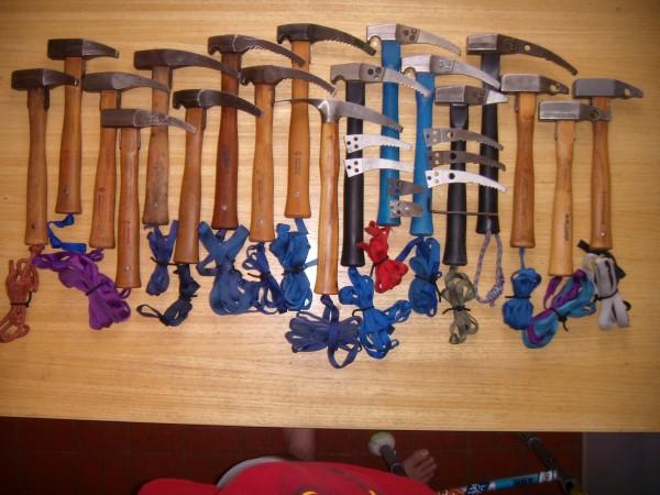 Chouinard / BD hammers