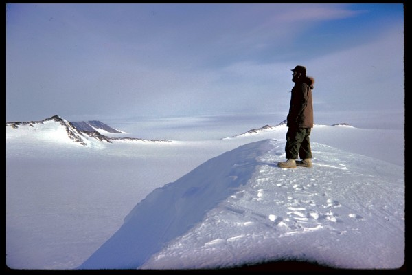 Dad, Ellsworth Land, Antarctica, 1962