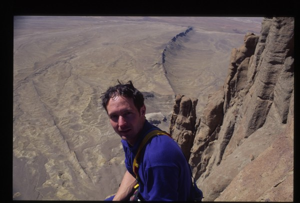 Kirk Brode on the summit