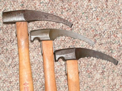 Chouinard Alpine hammers