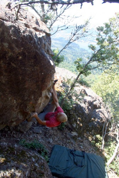 Kenny Ariza on his classic test-piece Campus Girls (V7FA! - unrepeated...