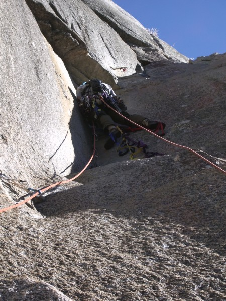 John Hall leads into the strange dihedral.