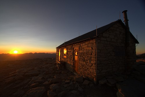 Shelter on Mt. Whitney