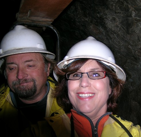 Cyndie and Jerry Bisbee, AZ mine tour