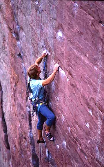 Dave Groth on Flake Route