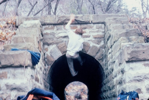 Dave Saucebury on the Tunnel Lunge Devils Lake