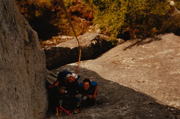 North Walls pioneers - Randy Atkinson & Dean Hart