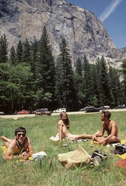 Here we are nude sunbathing in El Cap meadows. <br/> Aaahh California, liv...