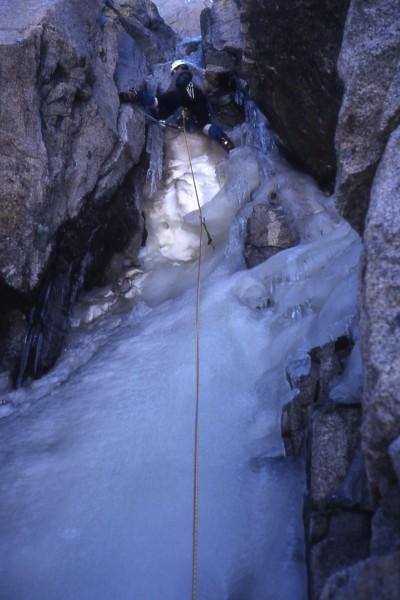 Mike Kellogg on crux and getting out from under the melt-water that wa...