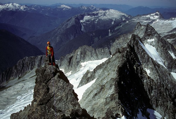 West Ridge, Forbidden Peak, North Cascades, back in the 1980s