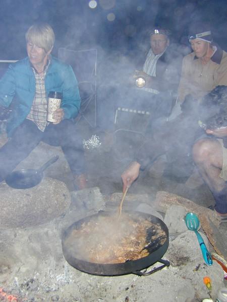 Tacos de mantaraya. Cañón del Tajo.