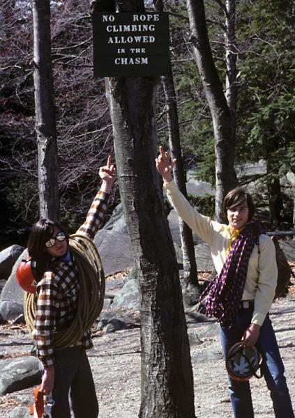Purgatory Chasm, Massachusetts, 1970s