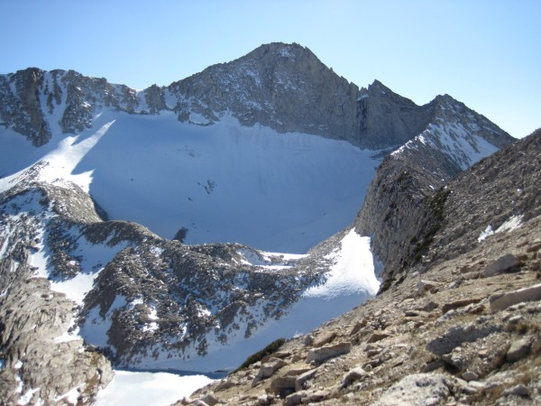 Mt. Connesss - fun hiking (low 5th class scrambling) from the right fo...