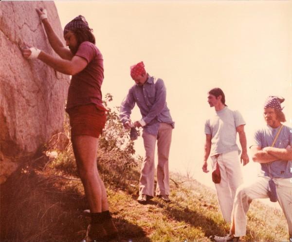 Mt. Rubidoux, mid seventies.