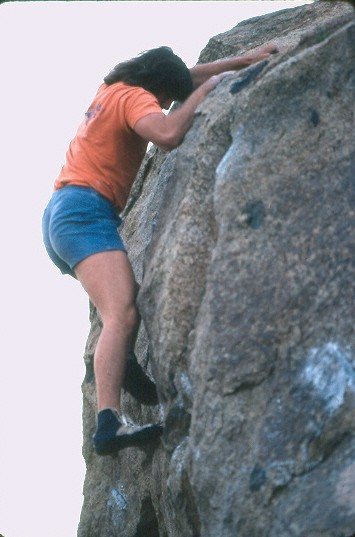 your's truly, Borson's wall; mid 70's.