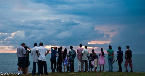 Galle, Sri Lanka last week