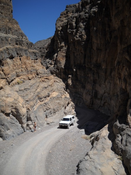 Titus Canyon in Death Valley