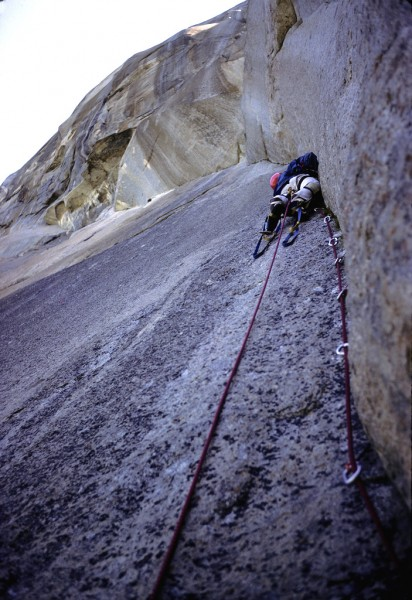 Muir Wall, El Cap - More than 30 years ago