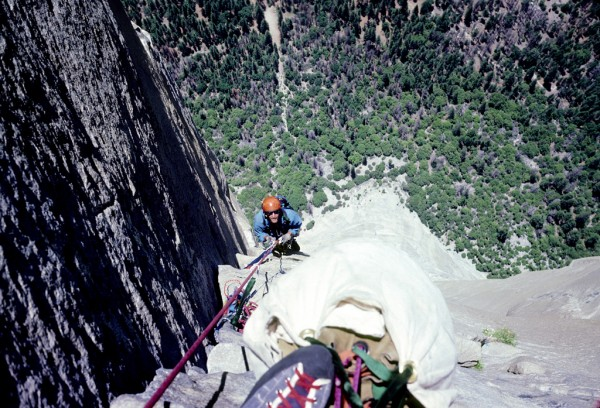 Near the top of the Nose - More than 30 years ago